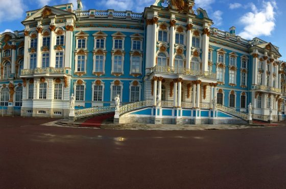 Snow in St. Petersburg!