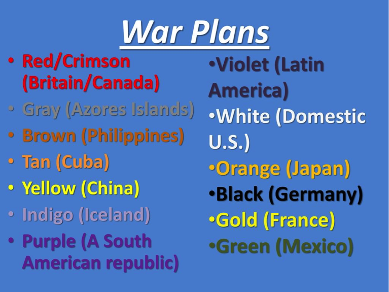 US-War-Plan-Orange