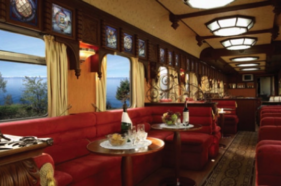 """Private Rail Travel in the US Part 2, """"Land Yachting""""-  Luxury Private Rail Cars"""