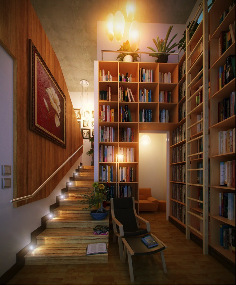 Decorating your Home with Books