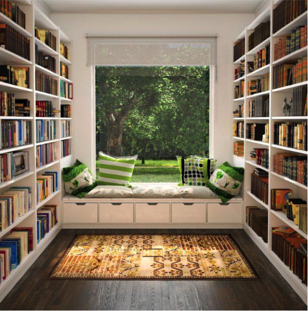Decorating-your-Home-with-Books